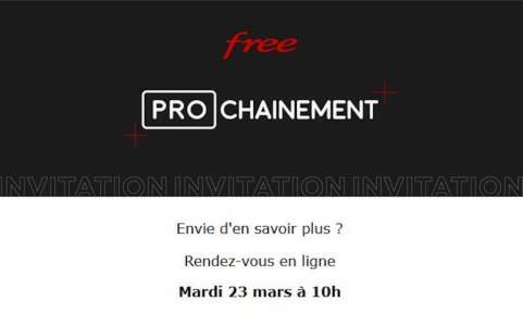 Free nous donne rendez-vous le 23 mars pour les abonnements professionnels
