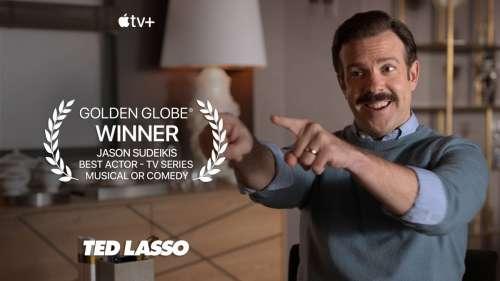 Un premier Golden Globe pour Apple grâce à Jason Sudeikis dans Ted Lasso