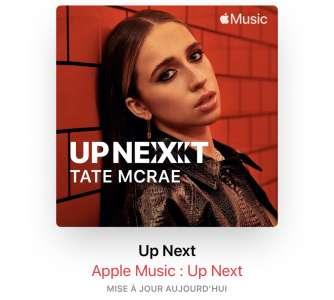 Apple Music : découvrez les artistes de demain grâce à Up Next