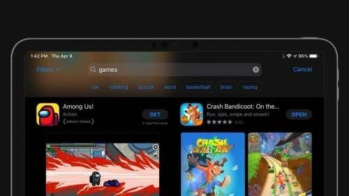 App Store : lancement des suggestions de recherche