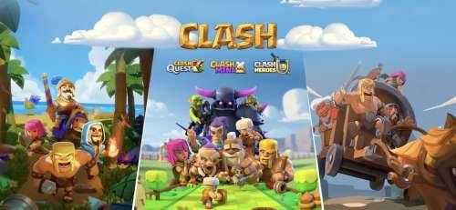 Supercell annonce Clash Mini, Clash Quest et Clash Heroes sur mobile !