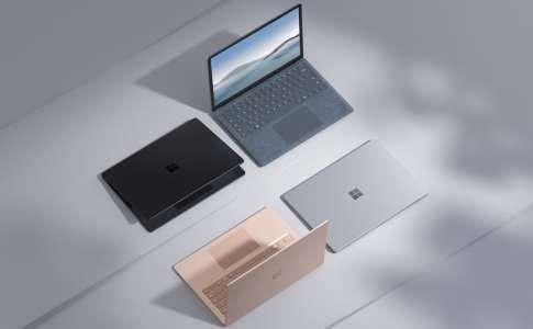 Microsoft critique le MacBook Air pour vanter sa Surface Laptop 4