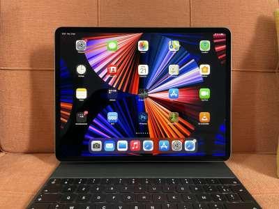 L'iPad Pro 2022 avec logo et caméra disposés à l'horizontal ?
