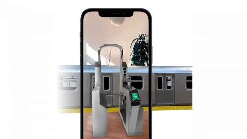 Apple fait la promotion d'Apple Pay Express Transit avec des expériences AR