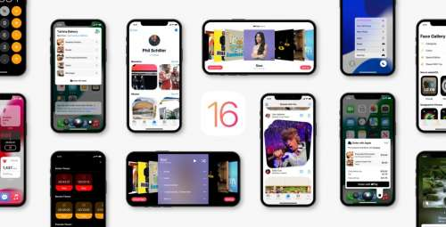Un premier concept complet pour iOS 16