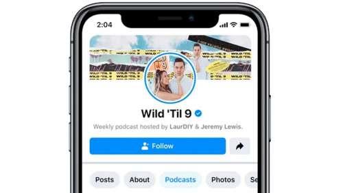 Facebook va lancer sa plateforme de podcasts la semaine prochaine