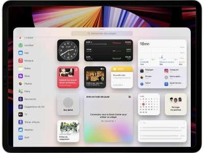 iOS 15 : un problème de widget après restauration d'un iPhone 13, iPad mini 6 ou iPad 9
