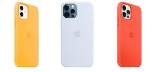 Apple ajoute 3 couleurs d'été à ses coques d'iPhone 12 en silicone