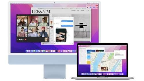 MacOS Monterey permet d'utiliser un Mac en tant qu'écran via AirPlay