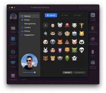 MacOS 12 Monterey : effacer sans réinstaller, couleur de la souris et Memoji animé