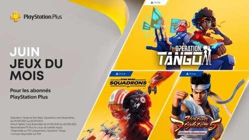PS Plus : les jeux gratuits en juin dont Virtua Fighter 5 et Star Wars Squadrons