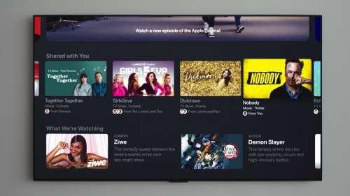 Apple publie la bêta 9 de tvOS 15