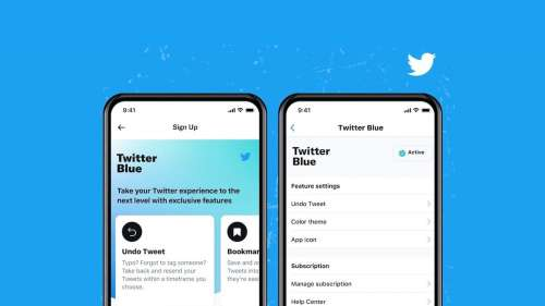 L'abonnement Twitter Blue est officiel avec l'annulation de tweet