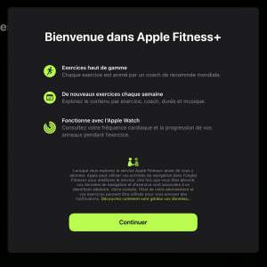 L'app Forme avec Fitness+ apparait dans la bêta française d'iPadOS 15