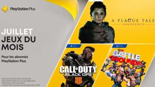 PS Plus : les jeux gratuits en juillet dont A Plague Tale et COD Black Ops 4