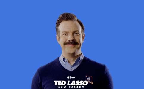 Apple.com fait la promotion de la saison 2 de Ted Lasso