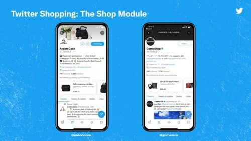 Bientôt du shopping sur Twitter ? Le réseau social vient de lancer un test !