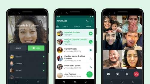 WhatsApp permet d'ajouter des personnes à un appel en cours