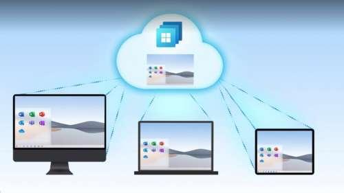Windows 365 permet d'avoir Windows Cloud sur Mac et iPad