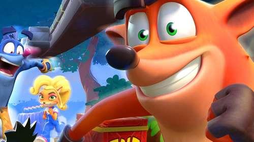 Crash Bandicoot On the Run : la saison 5 pour fêter les 25 ans de la saga