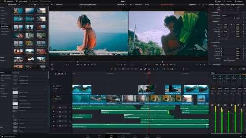 L'éditeur vidéo DaVinci Resolve est 3x plus rapide sur Mac M1