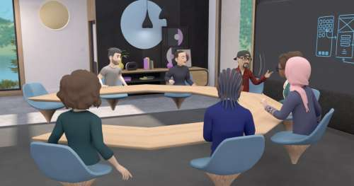 Facebook lance des salles de réunion en VR grâce à Horizon Workrooms