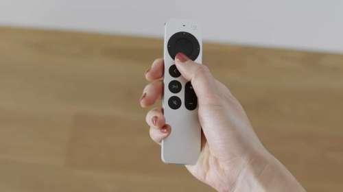 Apple met à jour la Siri Remote de l'Apple TV 4K 2021