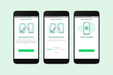 WhatsApp annonce le transfert des données entre iOS et Android (MAJ)