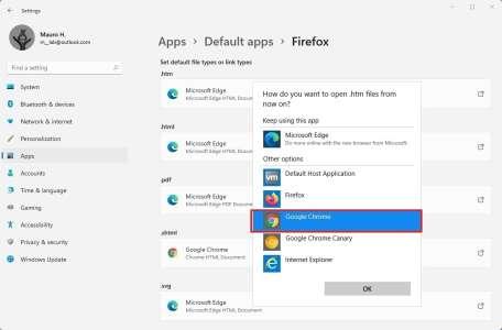 Windows 11 : changer le navigateur par défaut est un parcours du combattant