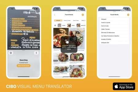 Cibo : l'app pour comprendre les menus à l'étranger