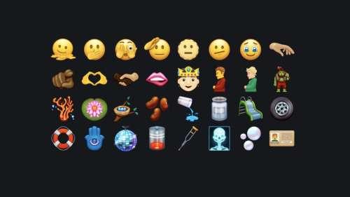 Voici les nouveaux emojis à venir dans iOS 15