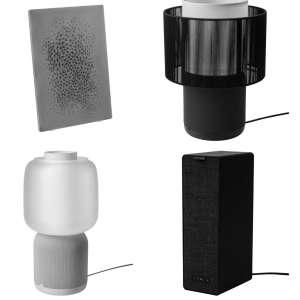 La lampe Symfonisk 2 de IKEA et Sonos se montre en image