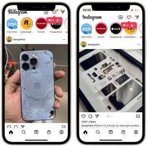 Instagram corrige les bugs de son et défilement sur iPhone 13