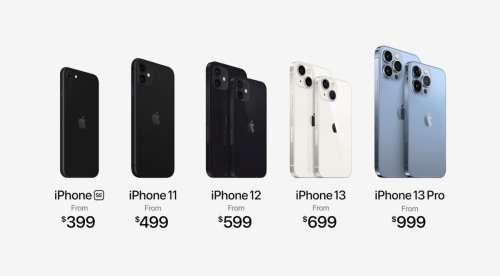 Apple ne vend plus les iPhone 12 Po, iPhone XR et iPhone SE 256 Go