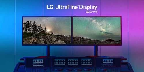 L'écran LG UltraFine OLED Pro 32 pouces est disponible à 3599€