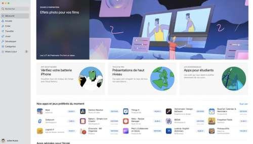 Le Mac App Store n'intéresse pas énormément les développeurs