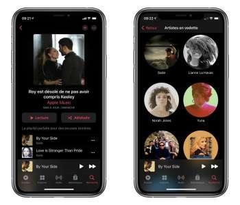 Une playlist dédiée à Ted Lasso est disponible sur Apple Music