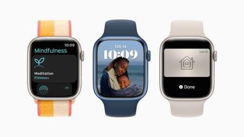 L'Apple Watch 7 est équipé d'un module sans fil 60,5 Ghz
