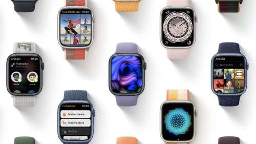 Vous pouvez télécharger watchOS 8 sur Apple Watch en version finale