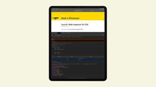 Web Inspector : une extension Safari pour développeurs (iOS 15)