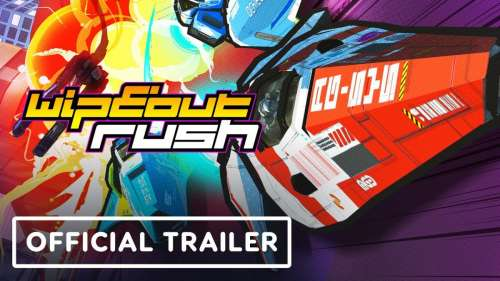 Sony annonce Wipeout Rush sur iOS et Android pour 2022