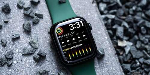 La charge rapide de l'Apple Watch 7 nécessite une prise 18 W