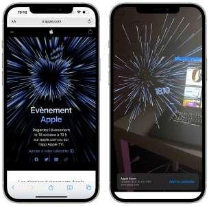 Apple Event du 18 octobre : Apple propose une expérience AR sur son site