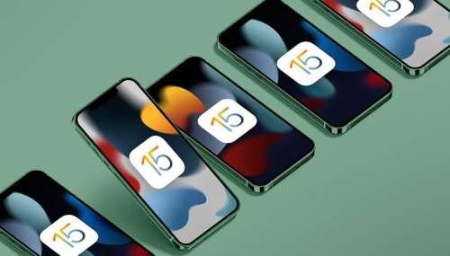 iOS 15.1, watchOS 8.1 et tvOS 15.1 arrivent la semaine prochaine