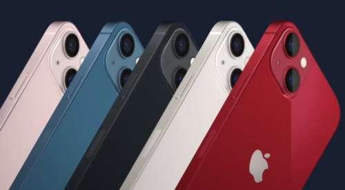 Apple réduit de 10 millions d'unités la production de l'iPhone 13 à cause de la pénurie