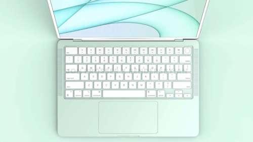 MacBook Air 2022 : puce M2, miniLED, webcam 1080p et clavier blanc
