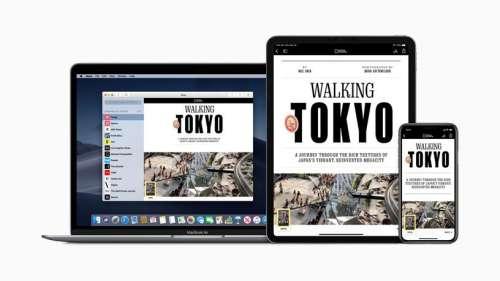 Apple lance le News Partner Program qui réduit la commission des apps des médias