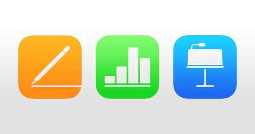 Pages, Numbers et Keynote se mettent à jour pour iOS 15 et macOS Monterey