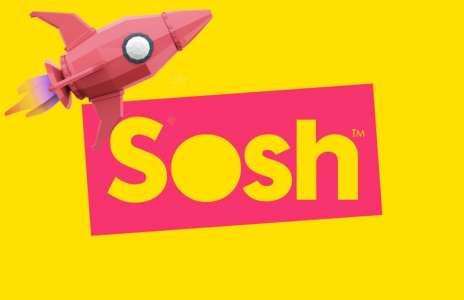 Sosh riposte avec le forfait 20 Go à 4,99€par mois !