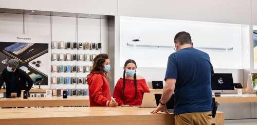 Bientôt des tests COVID pour tous les employés Apple, même vaccinés